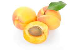 Apricot fruit Royalty Free Stock Photos