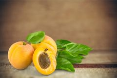 Apricot Fruit Stock Image