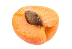 Apricot fruit on white Royalty Free Stock Images