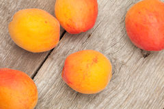 Apricot fruits. Stock Images