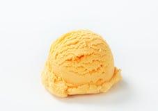 Apricot ice cream Stock Photo
