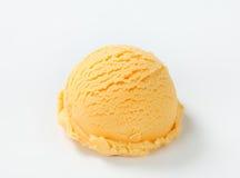 Apricot ice cream Royalty Free Stock Photo