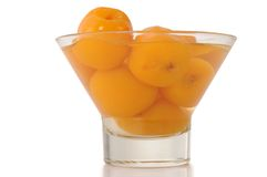 Apricot. Isolated Royalty Free Stock Images
