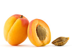 Free Apricot Isolated Royalty Free Stock Photography - 14934737