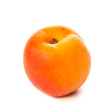 Apricot isolated on white Royalty Free Stock Image