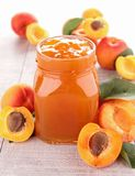Apricot jam Royalty Free Stock Images