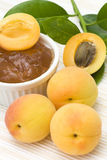 Apricot jam Royalty Free Stock Photography