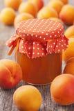 Apricot jam Royalty Free Stock Image