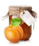 Apricot and jam Royalty Free Stock Photo