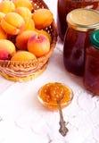 Apricot jam Royalty Free Stock Photo