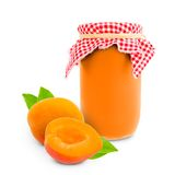 Apricot jar Royalty Free Stock Images