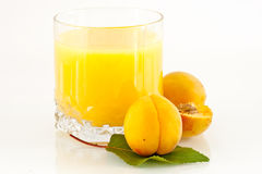 Apricot juice Royalty Free Stock Images