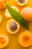 Apricot juice Royalty Free Stock Photos