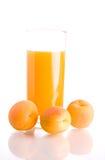 Apricot juice Stock Image