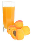 Apricot juice Royalty Free Stock Photo