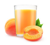 apricot juice Stock Images