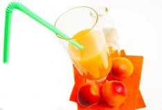 Apricot juise Royalty Free Stock Photo