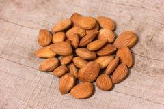 Apricot kernels Stock Photo
