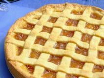 Apricot marmalade tart Stock Image