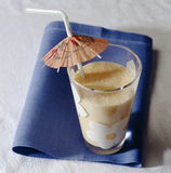 Apricot milk Royalty Free Stock Photography
