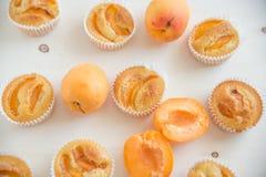 Apricot Muffins Stock Photo