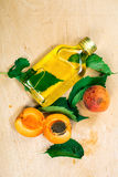 Apricot oil Royalty Free Stock Photos