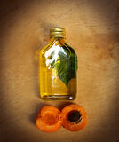 Apricot oil Royalty Free Stock Image