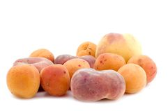 Apricot and peach Royalty Free Stock Photography