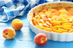 Apricot pie Stock Photography