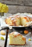 Apricot pie Royalty Free Stock Photography