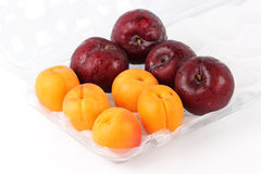 Apricot and Prune Royalty Free Stock Image