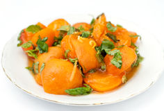 Apricot Salad Royalty Free Stock Photo
