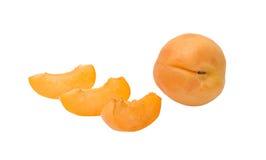 Apricot and segments Stock Photo