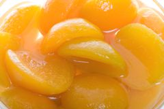 Apricot Slices Stock Photo