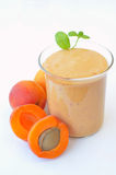 Apricot smoothie Royalty Free Stock Photos