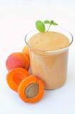 Apricot smoothie Royalty Free Stock Photos