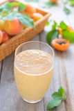 Apricot smoothie Royalty Free Stock Photography