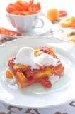 Apricot tart Stock Photos
