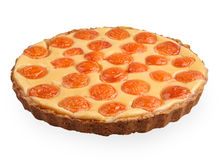 Apricot tart Royalty Free Stock Photography