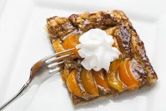 Apricot Tart Stock Images