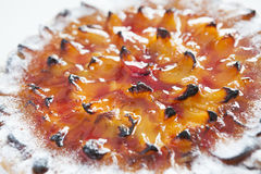 Apricot tart Stock Photography