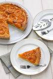 Apricot tart Stock Photography
