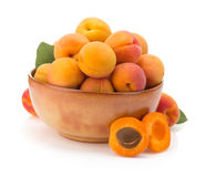 Apricot on white background Stock Photography