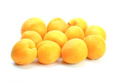 The apricots Stock Photography