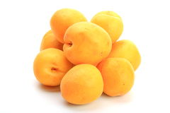 The apricots Royalty Free Stock Photos