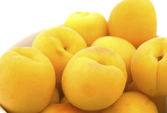 Apricots close up Stock Photo