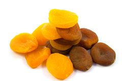 Apricots dried Stock Image