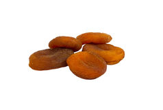 Apricots dried natural Royalty Free Stock Photos