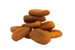 Apricots dried natural Stock Photos