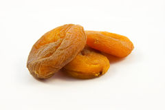 Apricots dried natural Stock Image